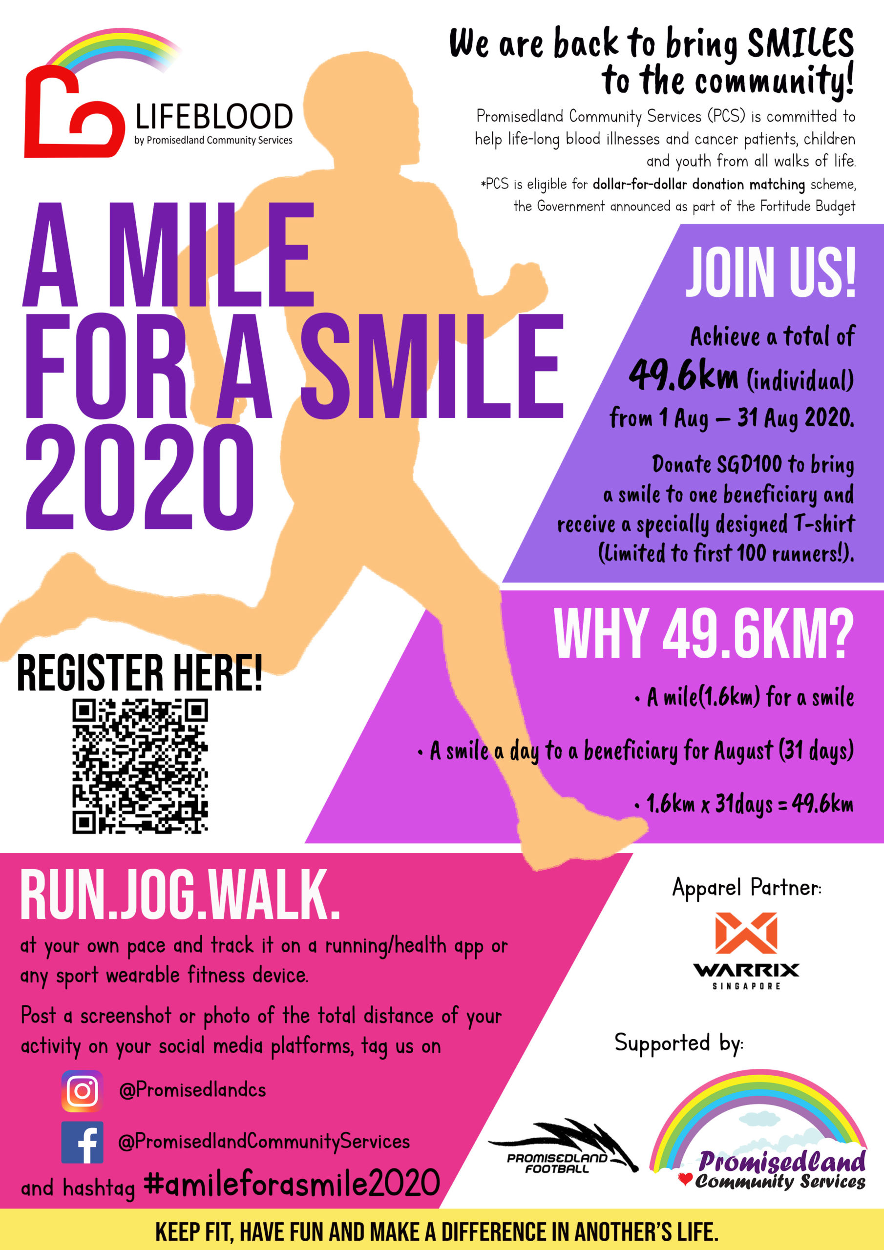 A mile for a smile 2020